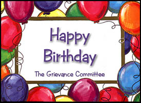 From the Grievance Committee