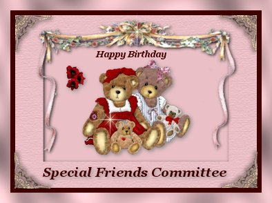 From the Special Friends Committee